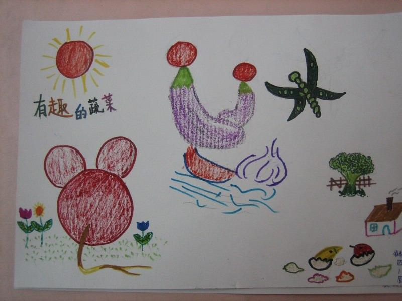 创意蔬菜绘画大赛活动纪实
